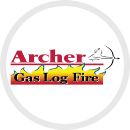 Archer Gas Log Fire